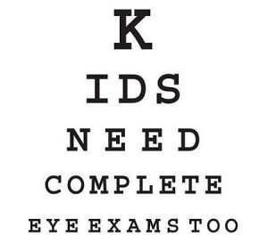 kids eye exams