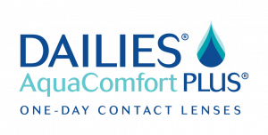 DAILIES AquaComfort PLUS Spot Color Logo 300×152
