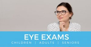 eye exams button children adults seniors stonewire optometry edmonton