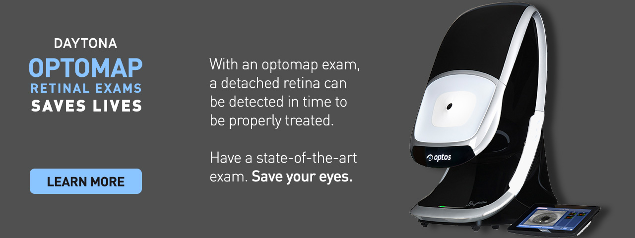 Grand Traverse Family Vision , Retinal Exams with Daytona Optomap in Traverse City, MI.