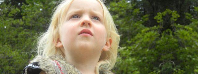 eye care, female child looking the sky in Cedar Park, TX
