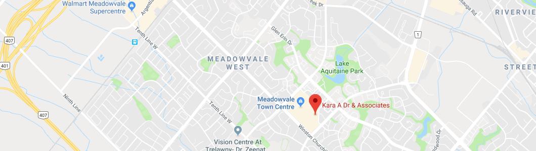 Dr. A Kara and Associates map