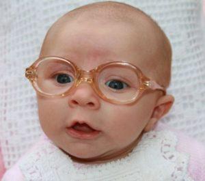 Infant wearing eyeglasses img 5701crop