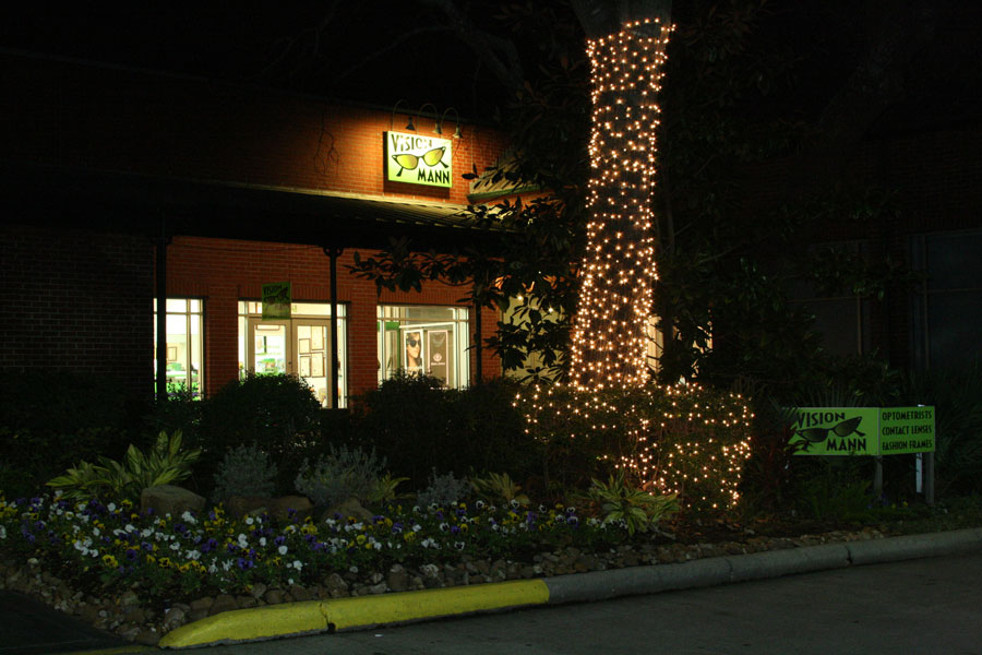 The Woodlands exterior at night img 0791