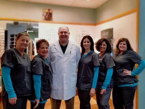 eye doctor and team in Cromwell, CT