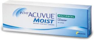 Eye doctor, JJ 1 day acuvue moist multifocal contact lenses in Kissimmee & Lakeland, FL