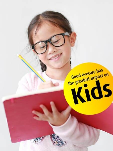 pediatric eye exams in Ontario