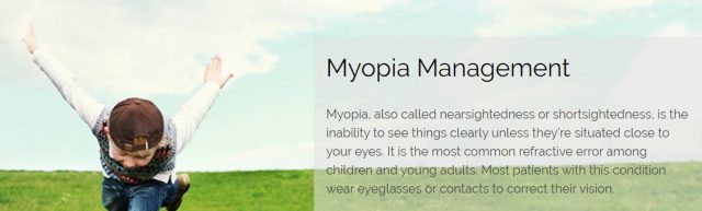 The Solution Center | Myopia Management