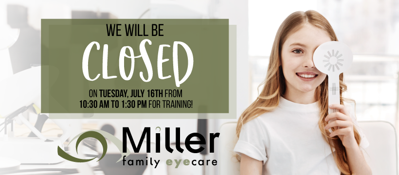 Closed July16thForTraining