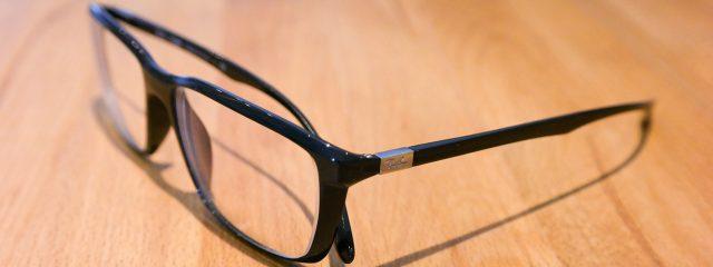 Optometrist, black frame eyeglasses in Jessup, MD