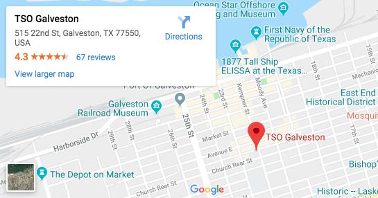 Galveston Eye Clinic Google Map