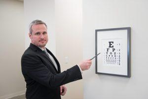 Oaks Optometric Center Eye Chart 4802