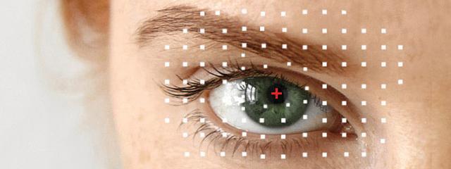 Eye doctor, woman eye with eye emergency in Kamloops, BC