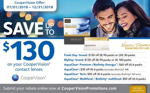 048ead22574 Save Up to  130 on Your CooperVision® Contact Lens Purchase