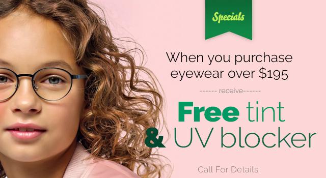 Free Tint & UV Blocker.