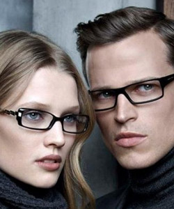 Models wearing Hugo Boss glasses