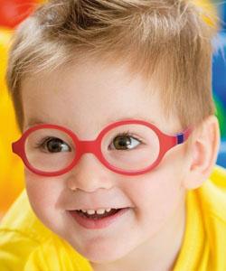Boy wearing Nano glasses