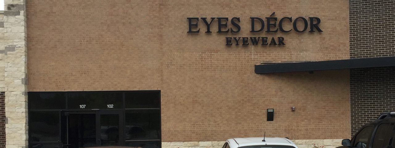 Eyes Decor Eyewear sign