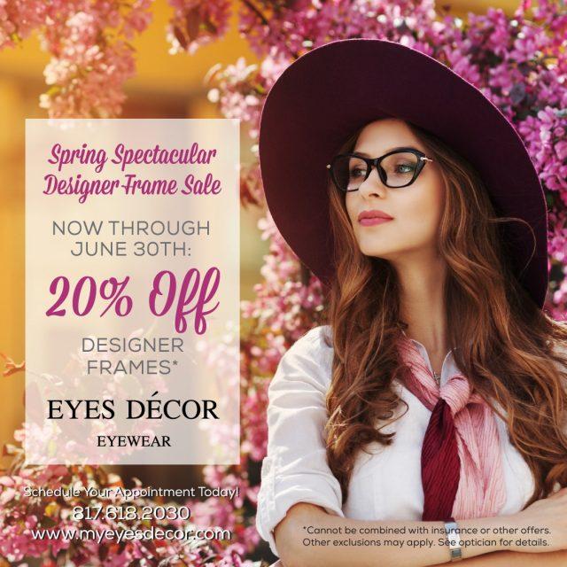 EyesDecor Q2SpringSpectacular Email