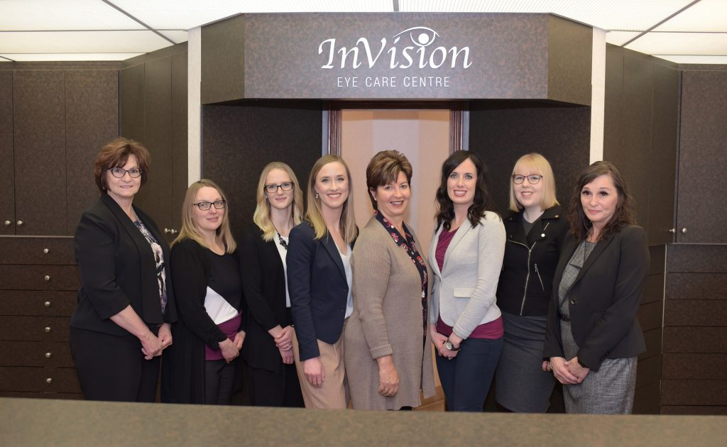 Pic of our eye care team