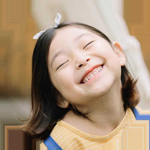 smile asian girl
