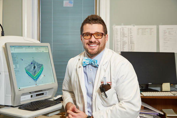 Eye care, Dr. Jonathan Andrews in New Holland, Pennsylvania