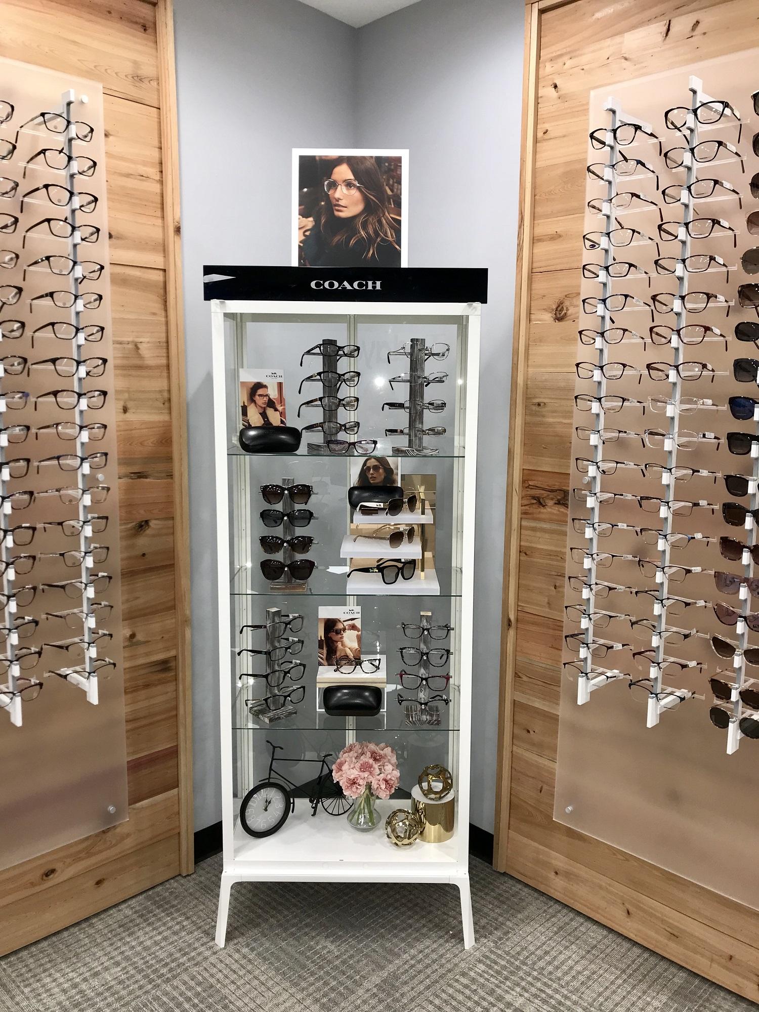 Coach eyeglass display