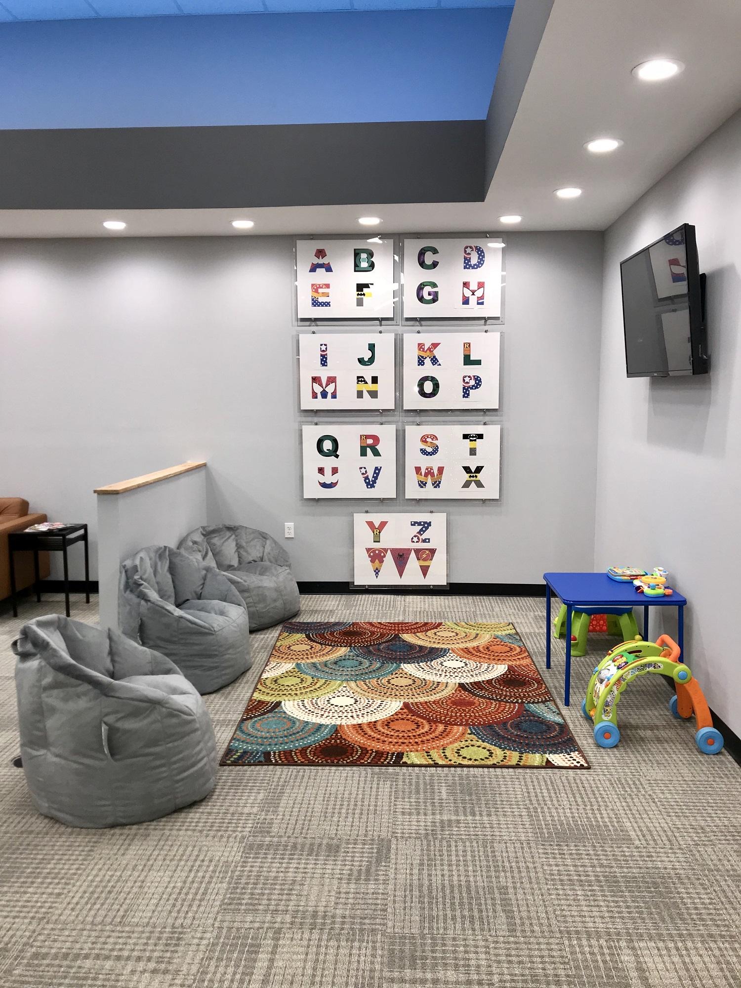 Children's waiting area