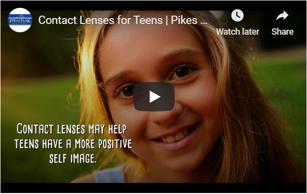 Video: Contact Lenses for Teens in Colorado Springs, Colorado
