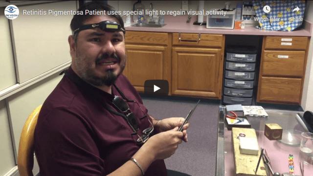 Screenshot 2020 03 30 Retinitis Pigmentosa Patient uses special light to regain visual activity