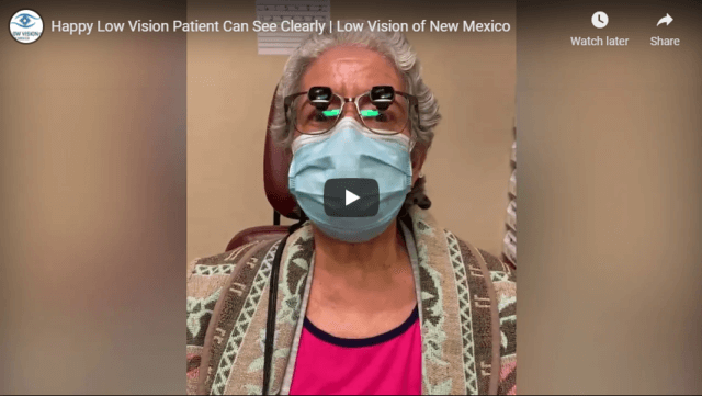 Happy Low Vision Patient Can See Clearly Low Vision of New Mexico YouTube