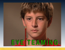 eye teaming boy