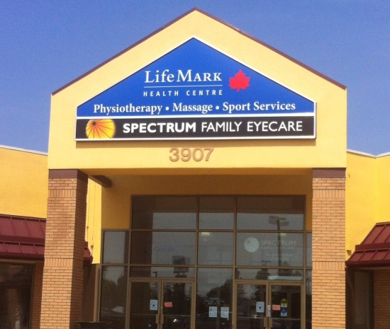 Spectrum family eyecare building
