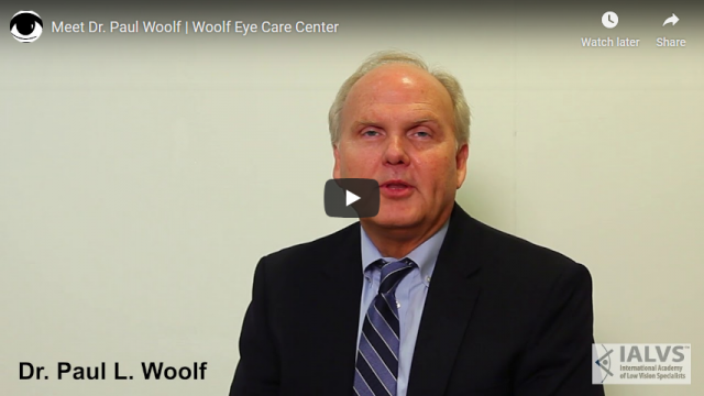 Screenshot 2019 07 20 Meet Dr Paul Woolf Woolf Eye Care Center YouTube