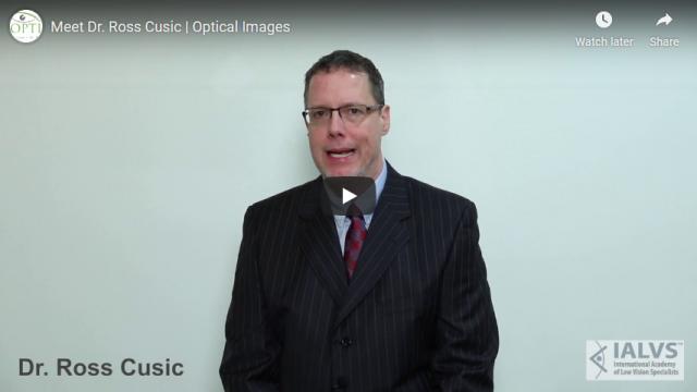 Screenshot 2019 07 20 Meet Dr Ross Cusic Optical Images YouTube