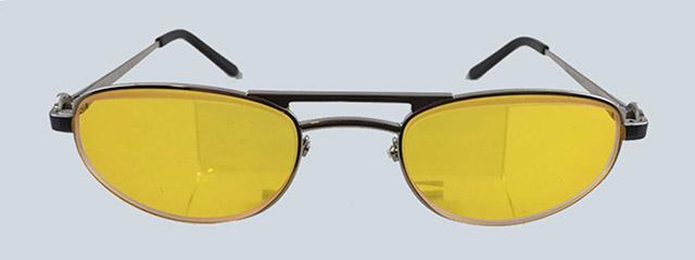 escoop womans yellow glasses
