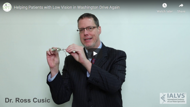 Screenshot 2019 07 20 Helping Patients with Low Vision in Washington Drive Again YouTube