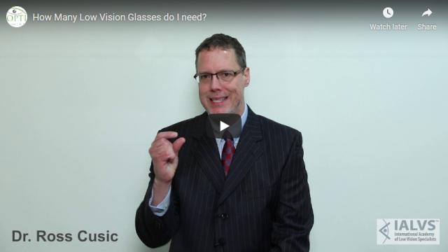 Screenshot 2019 07 20 How Many Low Vision Glasses do I need YouTube