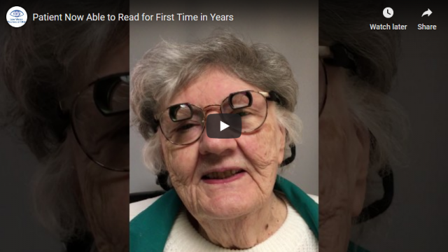 Screenshot 2019 07 20 Patient Now Able to Read for First Time in Years YouTube