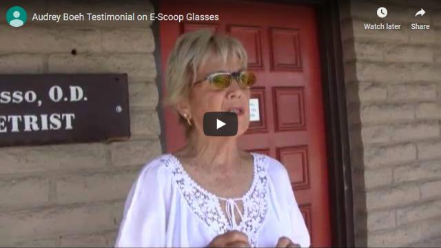 Screenshot 2019 07 21 Audrey Boeh Testimonial on E Scoop Glasses YouTube