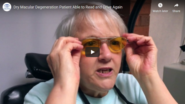 Screenshot 2019 07 21 Dry Macular Degeneration Patient Able to Read and Drive Again YouTube