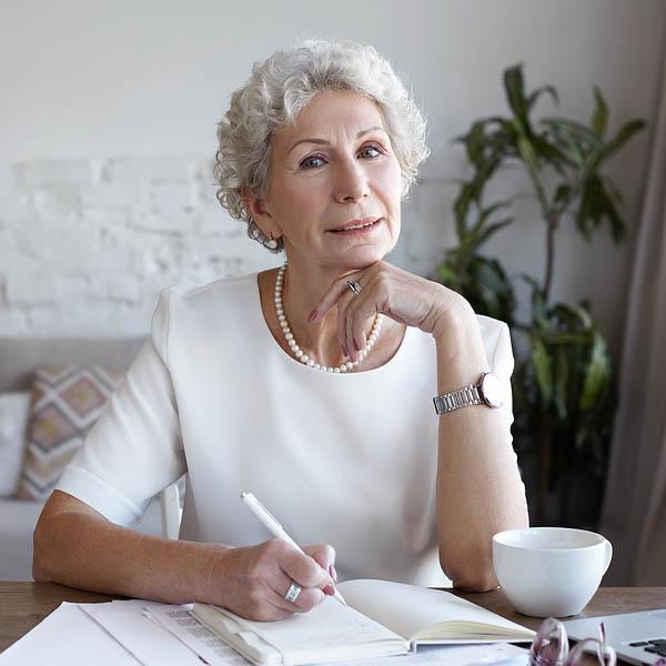 Senior People, Modern Lifestyle, Technologies, Job And Occupatio