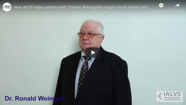 Screenshot 2019 11 06 How IALVS helps patients with Diabetic Retinopathy regain visual activity and be independent YouTube