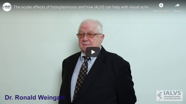 Screenshot 2019 11 06 The ocular effects of histoplasmosis and how IALVS can help with visual activity YouTube