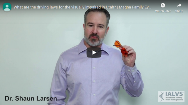 Screenshot 2019 11 06 What are the driving laws for the visually impaired in Utah Magna Family Eye Care YouTube