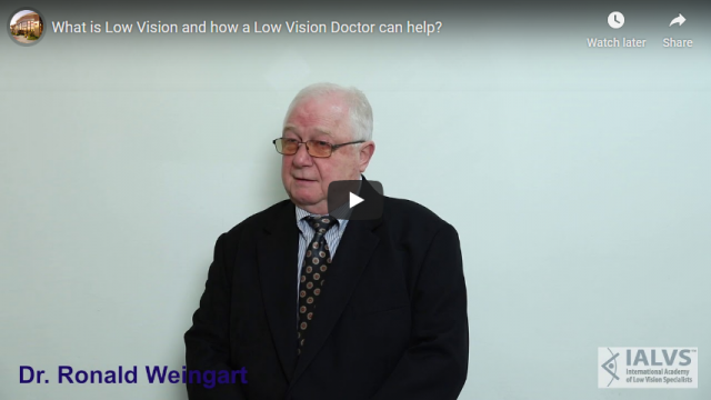 Screenshot 2019 11 06 What is Low Vision and how a Low Vision Doctor can help YouTube