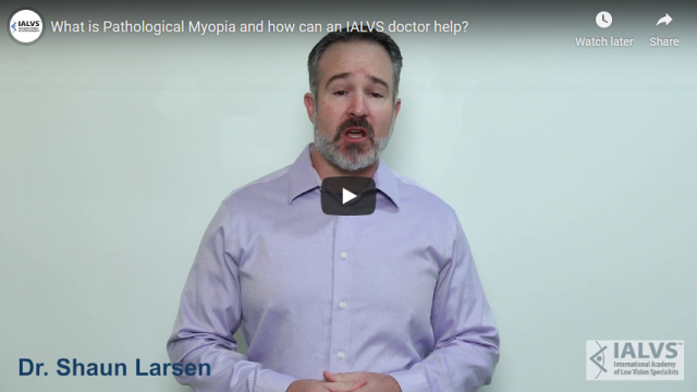 Screenshot 2019 11 06 What is Pathological Myopia and how can an IALVS doctor help   YouTube