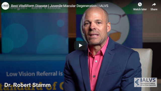 Best Vitelliform Disease Juvenile Macular Degeneration IALVS YouTube