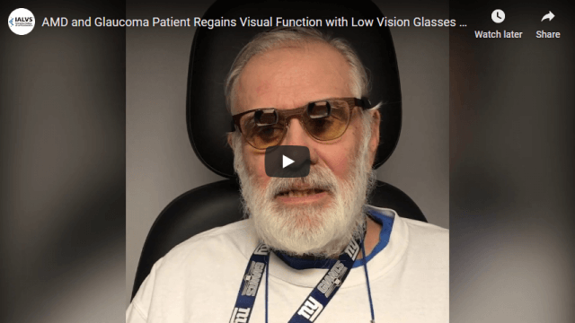 Screenshot 2020 03 12 AMD and Glaucoma Patient Regains Visual Function with Low Vision Glasses IALVS