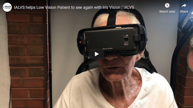 Screenshot 2020 03 12 IALVS helps Low Vision Patient to see again with Iris Vision IALVS